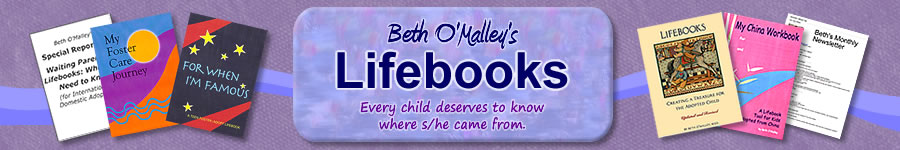 Beth O'Malley's Adoption Lifebooks